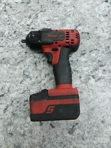 Snap On Ct8810b 3 8 Drive 18v Lithium Ion Cordless Impact W batt Free Shipping