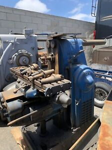 Kearney Trecker milwaukee Milling Machine Model H