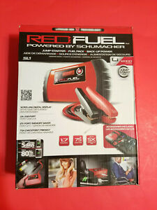 New Schumacher Sl1 Red Fuel Lithium Jump Starter Cables Car Charger Battery
