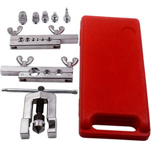 Hvac Flaring And Swaging Tool Kit Od Soft Refrigeration Copper Tubing 1 8 3 4