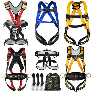 Fall Protection Construction Harness amp Shock Absorbing Light Weight Roofers
