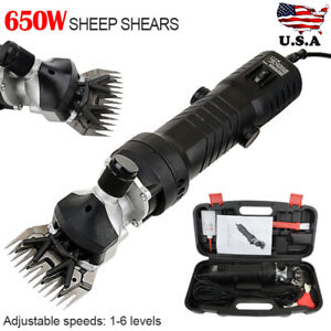 3600rpm 650w Electric Farm Supplies Sheep Goat Shears Animal Grooming Clipper