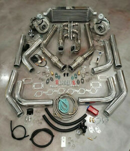 For Ford Mustang V6 3 8l Twin Turbo T3t4 Turbocharger Kit Custom Built 550 Hp