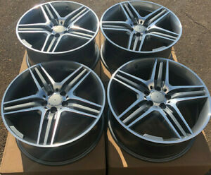 Set Of Four 19 X8 5 9 5 Wheels Rims Fit Mercedes S500 S550 S63 S65 S600 Amg New