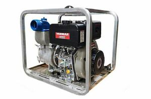4 Yanmar Heavy Duty Diesel Trash Pump