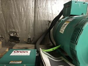 Onan 25kw Protec Pto Generator With Control Box Assy Model Yd