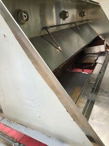 8 Ft Restaurant Commercial Kitchen Exhaust Hood