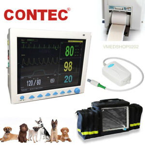 Vet Icu Veterinary Patient Monitor Vital Signs Animal Co2 Capnograph printer bag
