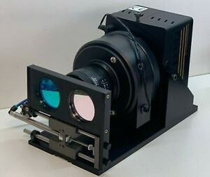 Roper Scientific Te ccd 512 tkbm 1 visar Camera With Nikon Nikkor 50mm Lens