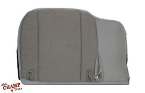 2000 2001 2002 Ford Ranger 2wd 4x4 Driver Side Bottom Cloth Seat Cover Gray