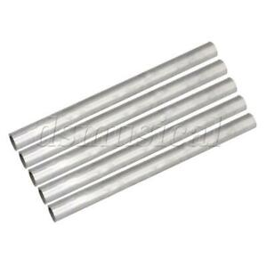 5pcs Od 15mm Id 12mm Length 200mm 304 Stainless Steel Metal Pipe Tubing