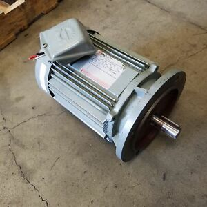 Sm Electric Tei112mc00374nd 5hp 1730rpm Frame 112 Three Phase Motor Used