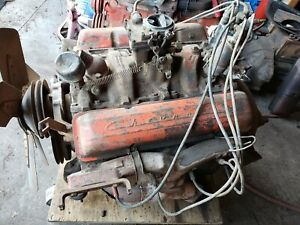 1958 1967 Chevy 283 V8 Engine Running Core Free Shipping