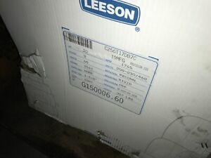 Leeson Motor c256t17db7c 20hp 1765rpm 208 230 460v Fr 256t With Warranty