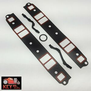Small Block Chevy Intake Manifold Cellulose Gaskets Set Sbc 350 400 327 305 307