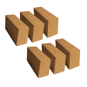 30 Alumina Refractory Fire Brick Kit 2498 f Of 6 Replacements 9 X 4 5 X 2 5