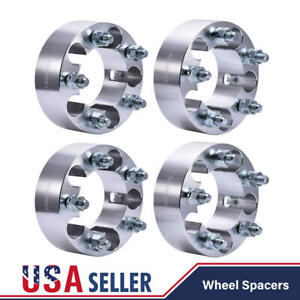 4pcs 2 Wheel Spacers Adapters 5x4 5 For Jeep Wrangler Liberty Tj Yj Xj Kj Ford