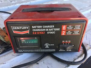 Century Battery Charger 6 12 Volt 87062c