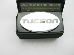 New Genuine Chrome Plated Towing Hitch Cover Oem For Hyundai Tucson