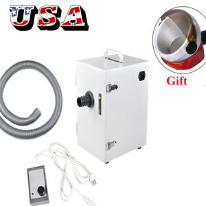 Dental Digital Single row Dust Collector Collecting Vacuum Cleaner suction Base