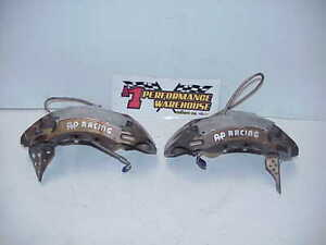 2 Ap Racing 6 Piston Aluminum Radial Mt Brake Calipers Rh Lh 5845 104 105 Ofa3
