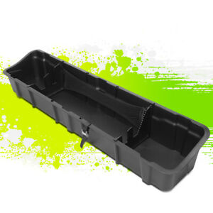 For 15 19 Ford F150 Crew Cab Rear Under Seat Storage Tray Tool Box Case 16 17 18
