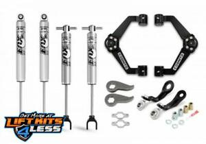 Cognito 110 p0752 Performance Leveling Kit For 2011 2019 Gm 2500 Hd 3500 Hd