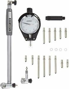 Fowler Extender Engine Cylinder Dial Bore Hole Guage Tools Set 1 4 To 6 Range