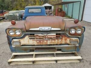 1958 58 Chevy Chevrolet Truck Front Clip Shipping Included