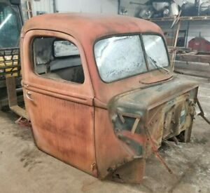 1940 40 Ford Pickup Truck Cab And Doors Shipping Included