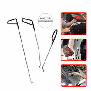Paintless Dent Repair Puller Rods Removal Hail Ding Tools Auto Body Kit Us