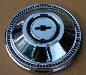 1967 Chevy Fullsize Biscayne Belair 427 Dog Dish Poverty Hubcap 3893336