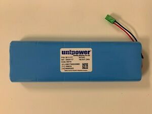 Unipower Nicad Battery For Ge Mac 1200 B11117 New