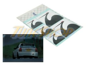 Spoon Sports Jdm Japan Mark Sticker Sheet Decal For Honda Acura All 90000 T00