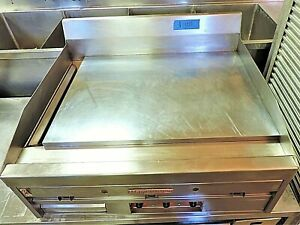 36 Magic Kitchen Commercial Flat Top Grill Nat Gas Mkg36 Free Freight Shipping