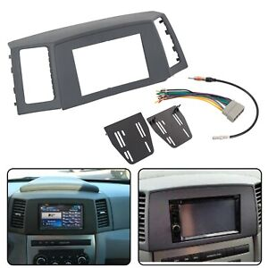 Double Din Radio Dash Kit Wiring Harness For 2005 2007 Jeep Grand Cherokee