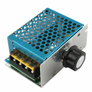 4000w 220v Ac Scr Electric Voltage Regulator Dimmer Motor Speed Power Controller