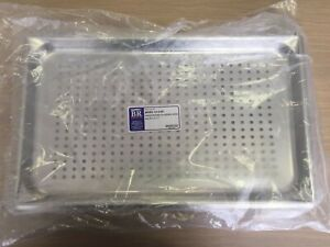 Br Surgical Br83 11140 Instrument Sterilization Tray Perforated Stainless Steel