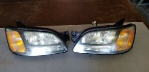 2000 2001 2002 2003 2004 Subaru Legacy Outback Head Light Pair Used Oem