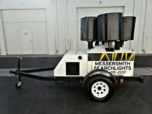 2k Xenon Skytracker Searchlight With Integrated Yanmar Engine generator