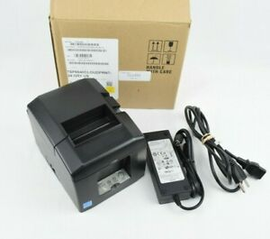 Star Tsp650 Receipt Thermal Pos Printer Usb Ethernet W Adapter