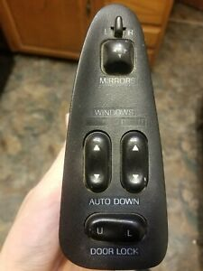 93 97 Ford Probe Driver Side Left Side Master Power Window Switch Se Gt Gts