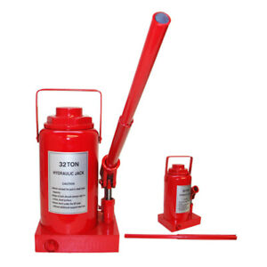 32 Ton Hydraulic Bottle Jack Lift Car Truck 64 000 Lbs