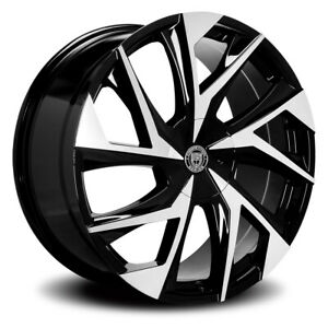 Lexani Ghost Rim 24x10 6x135 6x139 7 Offset 30 Machined Face quantity Of 4