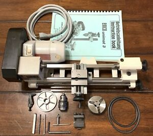 Emco Unimat 3 Mini Micro Hobby Watchmaker Lathe Made In Austria