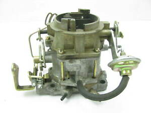 Core 6344sa Carburetor Dodge Plymouth 318 V8 Carter 2 Bbl Bbd Auto Trans At