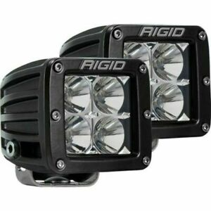 Rigid Industries Dually Flood Lights Set Of 2 Amber 202123