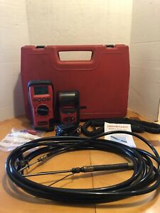 Snap On Handheld 5 Gas Analyzer Hhga5b With Printer Case And Power Cords