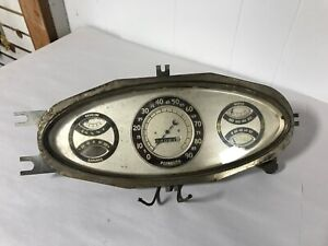 1933 Plymouth Deluxe Dash Cluster 33
