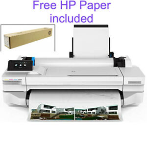 Hp Designjet T130 24 in Large Format Printer Ships Free Same Day By 5pm Et